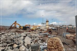 Travaux d'aménagement du Port 2021